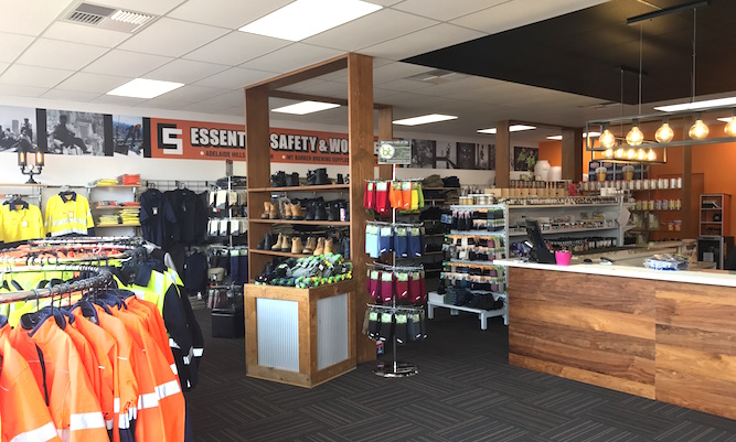 Essential Safety Retail Fit Out