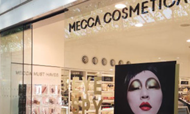 Mecca Cosmetica Retail Fit Out