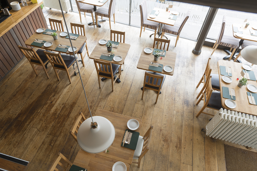 cafe fitout example