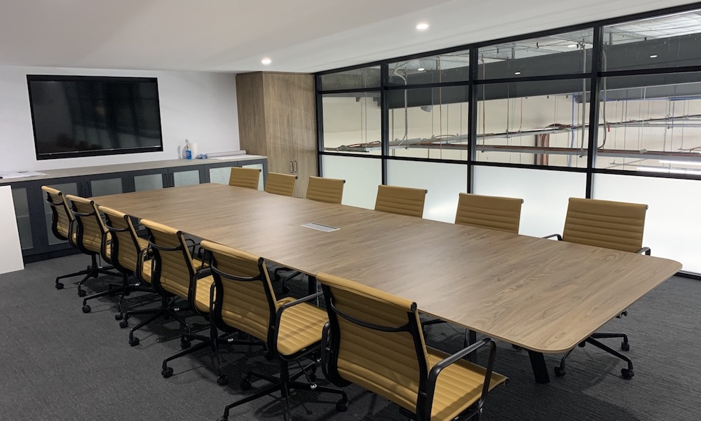 Linfox Office Fitout